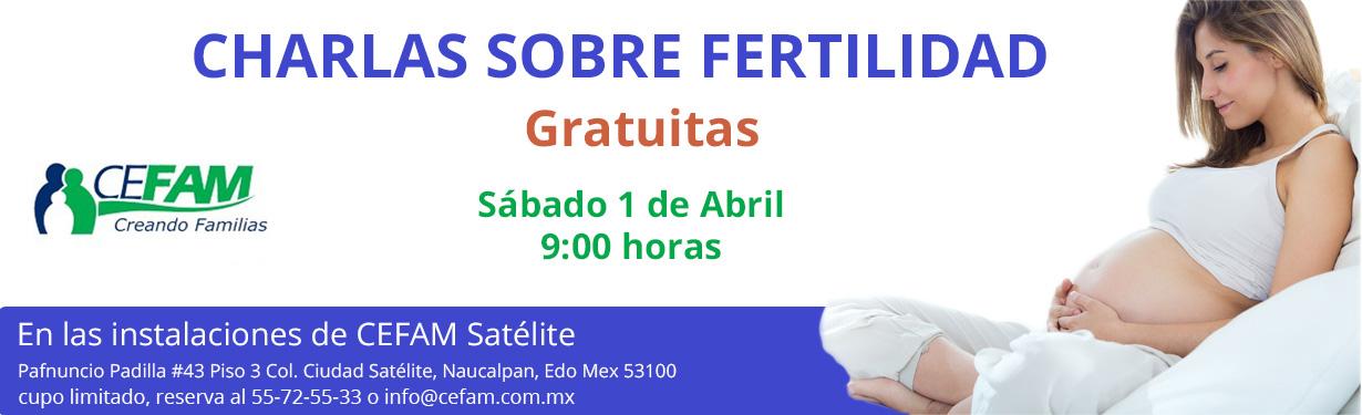 Charlas sobre Fertilidad Gratuitas 1 de Abril 2017