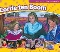 CORRIE TEN BOOM - Flashcard with Text