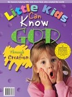 Little Kids Can Know God Through Creation
