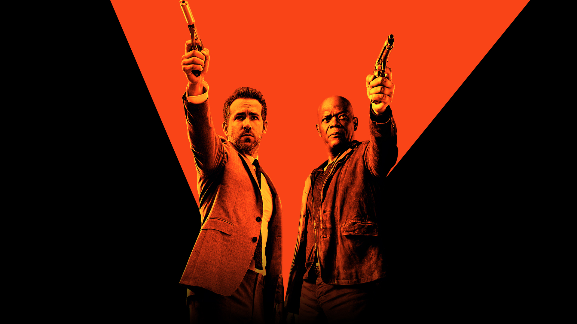 Hitman's Bodyguard-Care pe care – DVD