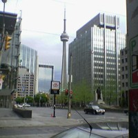 CN Tower from Nathan Phillips Square