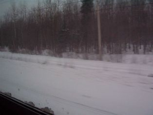 Train Ride to Montreal