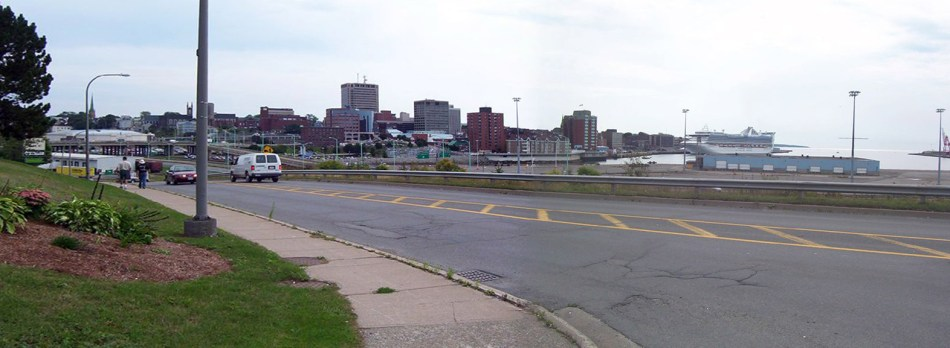 Long Wharf and Uptown