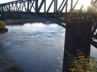 Saint John River Under the Bridge