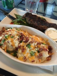 April: Dinner at Rocky's