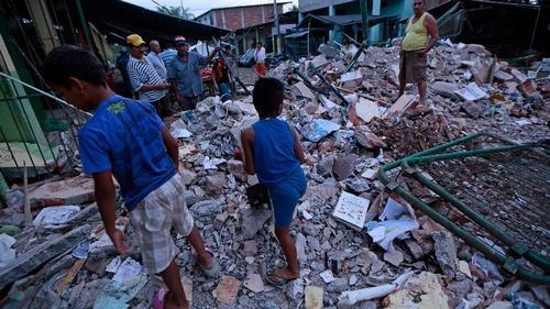 terremoto -ecuador