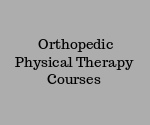 Geriatric Physical Therapy Courses