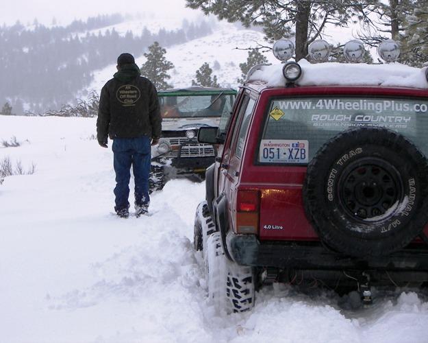 Photos: EWOR Pine Mountain New Year 4×4 Snow Run 9