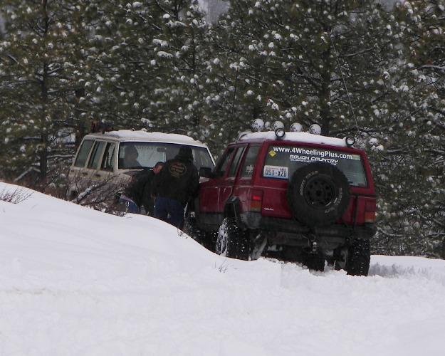 Photos: EWOR Pine Mountain New Year 4×4 Snow Run 13
