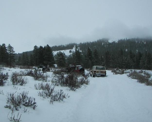 Photos: EWOR Pine Mountain New Year 4×4 Snow Run 17