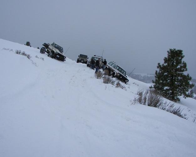 Photos: EWOR Pine Mountain New Year 4×4 Snow Run 23