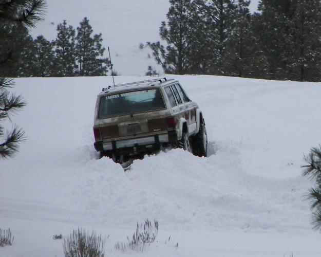 Photos: EWOR Pine Mountain New Year 4×4 Snow Run 27