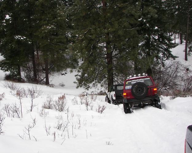 Photos: EWOR Pine Mountain New Year 4×4 Snow Run 29