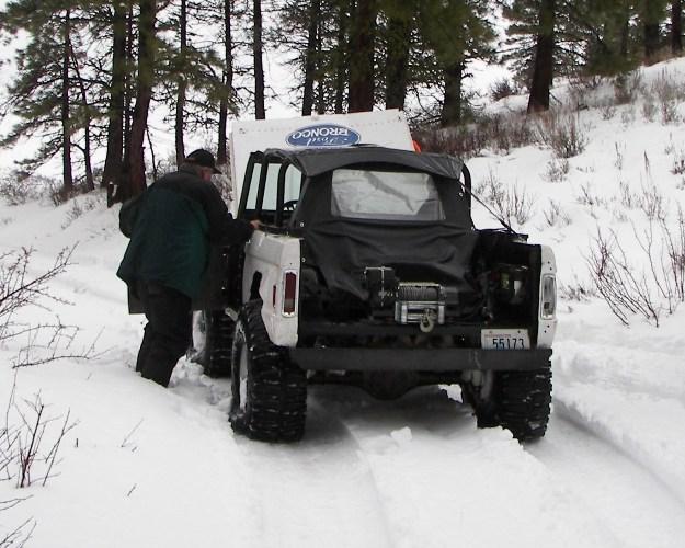 Photos: EWOR Pine Mountain New Year 4×4 Snow Run 31