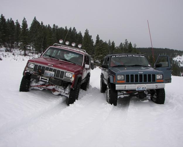Photos: EWOR Pine Mountain New Year 4×4 Snow Run 33