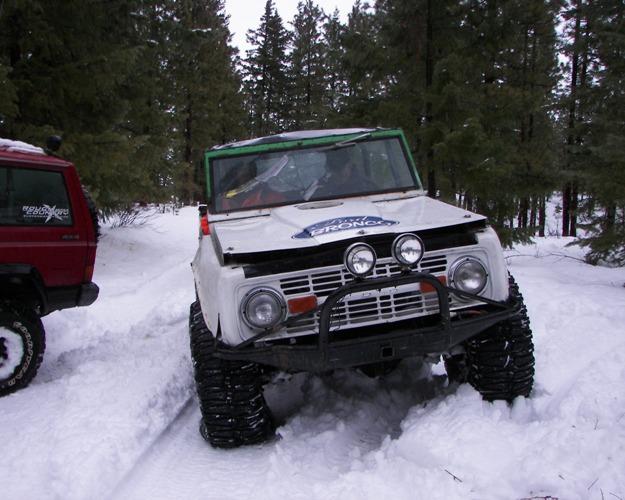 Photos: EWOR Pine Mountain New Year 4×4 Snow Run 43