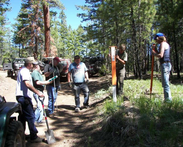 Photos: EWOR Ahtanum State Forest Green Dot Work Party Part 1 of 2 2