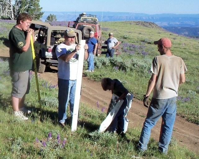 Photos: EWOR Ahtanum ORV Trail Maintenance Camp-out 44