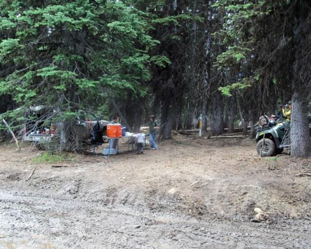 Photos: Grey Rock 50K Aid Station 3