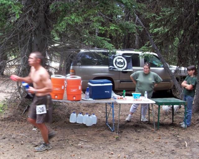 Photos: Grey Rock 50K Aid Station 9
