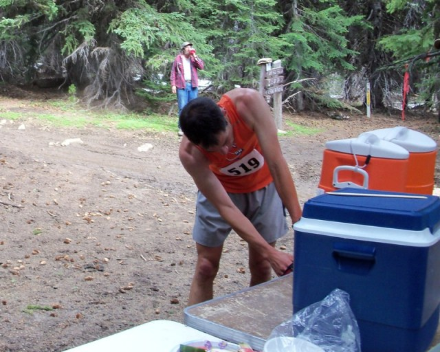 Photos: Grey Rock 50K Aid Station 10