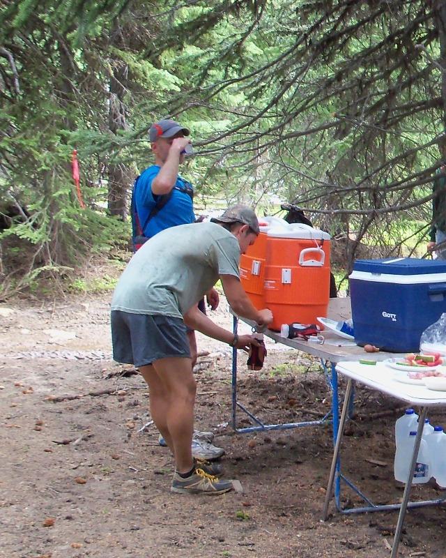 Photos: Grey Rock 50K Aid Station 13