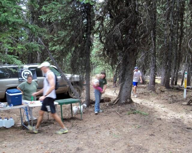 Photos: Grey Rock 50K Aid Station 20