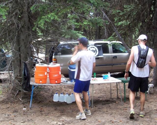 Photos: Grey Rock 50K Aid Station 23