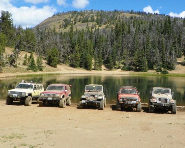 Photos: Trail 4W613 Work Day 8