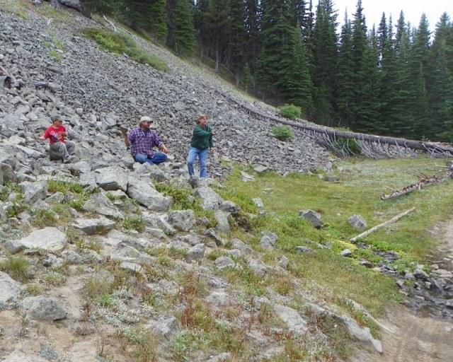 Photos: Trail 4W613 Work Day 29