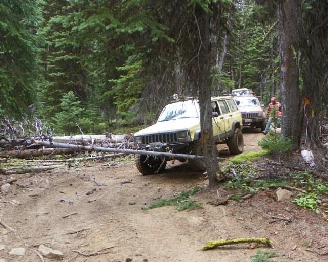 Photos: Trail 4W613 Work Day 37