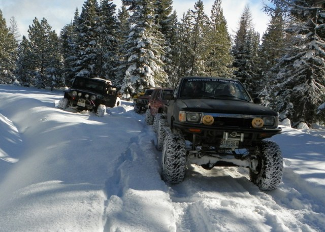 Photos: EWOR Thanksgiving 4x4 Run at the Ahtanum State Forest 13