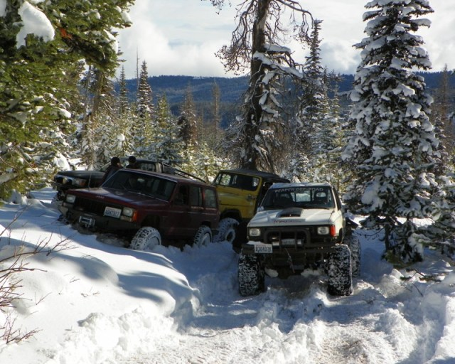 Photos: EWOR Thanksgiving 4x4 Run at the Ahtanum State Forest 32