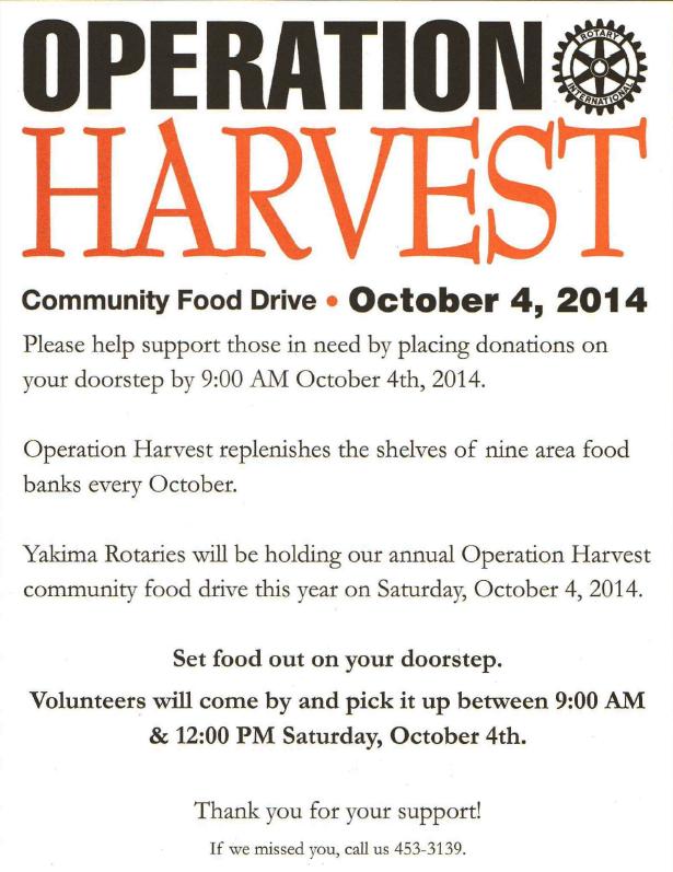Selah - Operation Harvest
