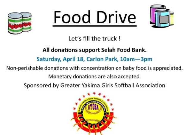 Selah Food Drive