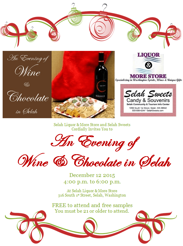 An Evening of Wine & Chocolate in Selah