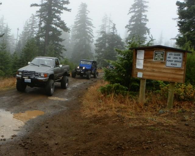 Photos: PNW4WDA Region 4 Pick Up A Mountain 17