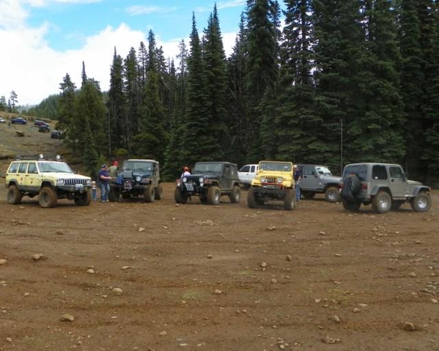 Photos: PNW4WDA Region 4 Pick Up A Mountain 43