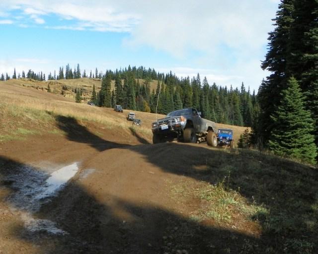 Photos: PNW4WDA Region 4 Pick Up A Mountain 44