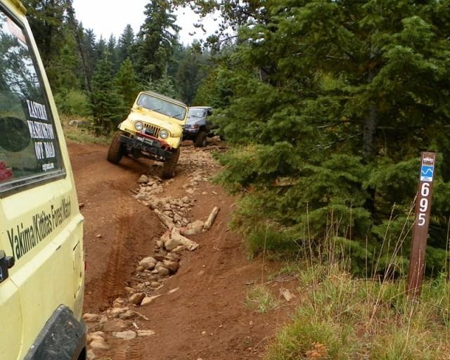 Photos: PNW4WDA Region 4 Pick Up A Mountain 54
