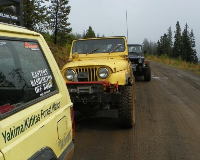 Photos: PNW4WDA Region 4 Pick Up A Mountain 55