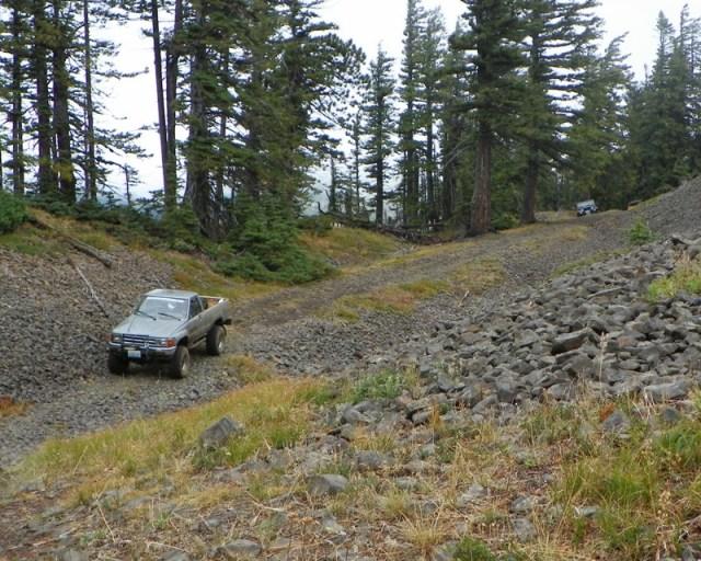 Photos: PNW4WDA Region 4 Pick Up A Mountain 58