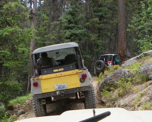 Photos: Yellow Jeep Run - Little Rattlesnake 8