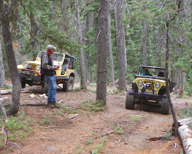 Photos: Yellow Jeep Run - Little Rattlesnake 24