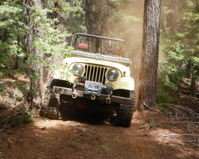 Photos: Yellow Jeep Run - Little Rattlesnake 57