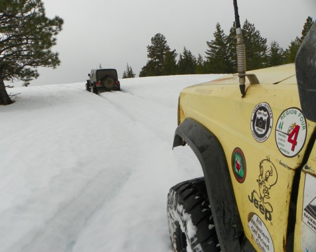 Photos: EWOR Sledding Backroads Run at the Ahtanum State Forest 20