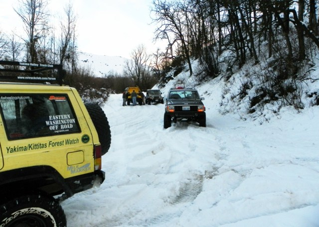 Photos: EWOR Sledding Backroads Run at the Ahtanum State Forest 54