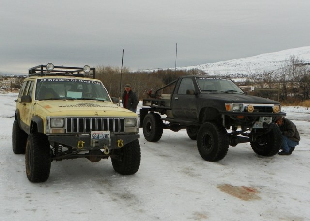 Photos: EWOR DNR Vehicle Counter Recovery Run at the Ahtanum State Forest 1