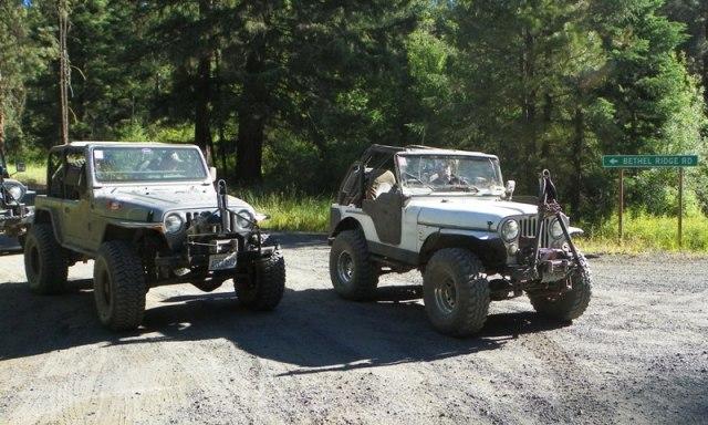 Pacific Northwest 4 Wheel Drive Association's 2011 Trail Jamboree – Day 2 of 5 5