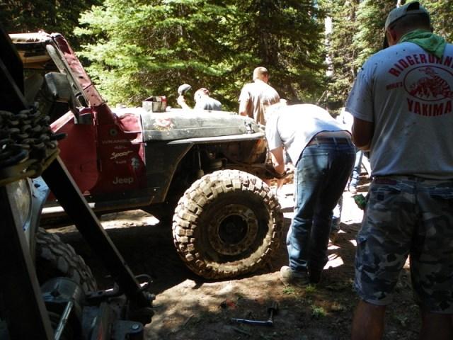 Pacific Northwest 4 Wheel Drive Association's 2011 Trail Jamboree – Day 2 of 5 38